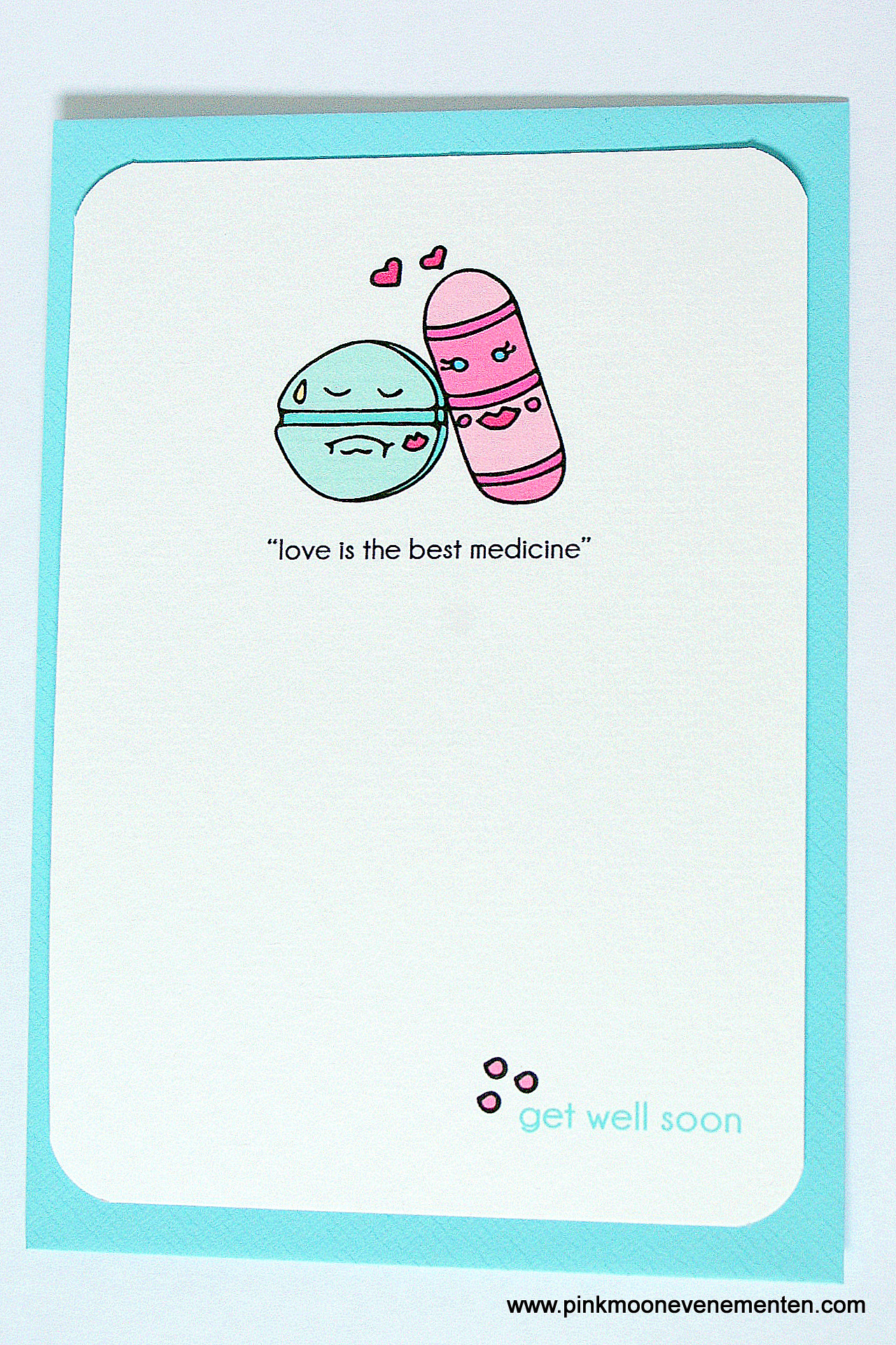 Get Well Soon Card In Etsy
