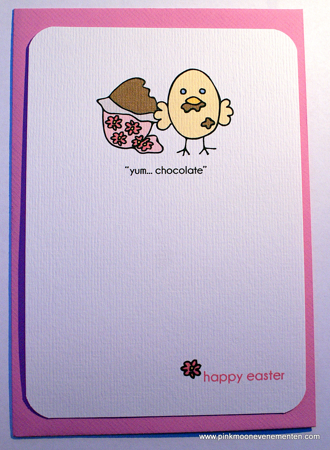 Yum chocolate easter card in etsy kristyandbryce Choice Image